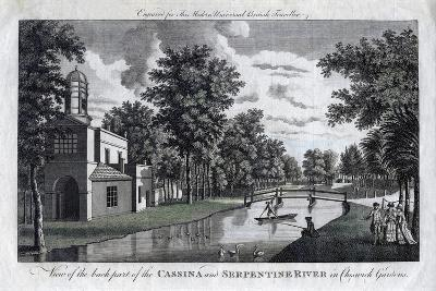 View of the Back Part of the Cassina and Serpentine River in Chiswick Gardens, London--Giclee Print