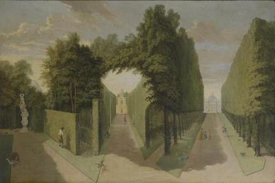 View of the Bagnio and Comed Building Alleys, Chiswick Villa-Pieter Andreas Rysbrack-Giclee Print