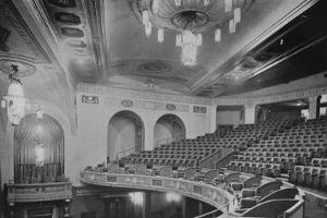 View of the balcony and upper part of the theatre - Regent Theatre, Brighton, Sussex, 1922