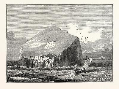 View of the Bass Rock Which Lies at the Mouth of the Frith of Forth at the Distance of About a Mile--Giclee Print