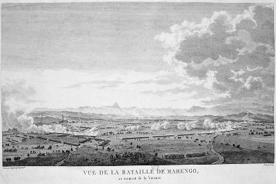 View of the Battle of Marengo at the Moment of Victory, 1800--Giclee Print