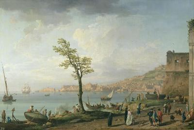 View of the Bay of Naples, 1748-Claude Joseph Vernet-Giclee Print