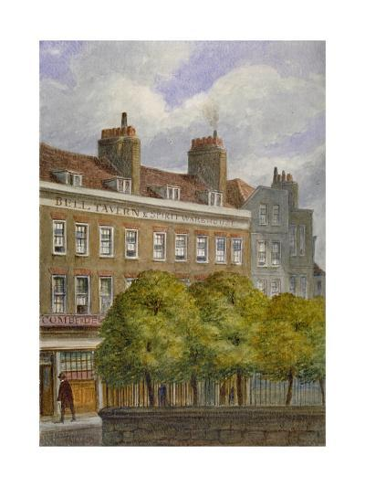 View of the Bell Tavern, Church Row, Aldgate, City of London, 1870-JT Wilson-Giclee Print