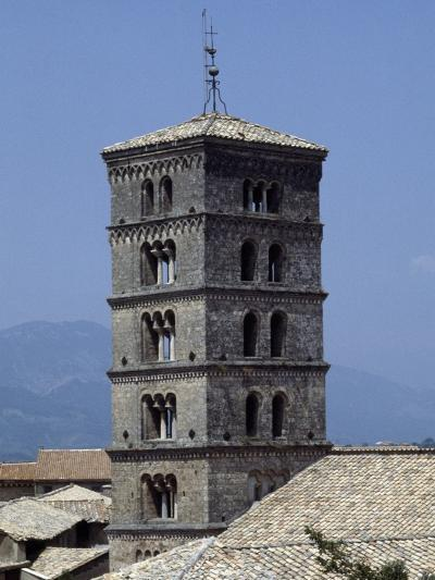 View of the Bell Tower of the Abbey of St Scholastica--Giclee Print