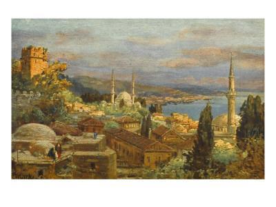View of the Bosphorus--Giclee Print