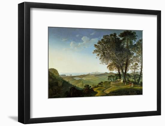 View of the Campi Flegrei (Phlegraean Fields) from Camaldoli-Lorenzo Lotto-Framed Giclee Print