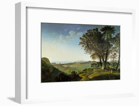 View of the Campi Flegrei (Phlegraean Fields) from Camaldoli-Lorenzo Lotto-Framed Giclee Print