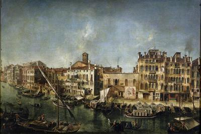 View of the Canal Grande from the Fondamenta Del Vin, 1736-1737-Michele Marieschi-Giclee Print