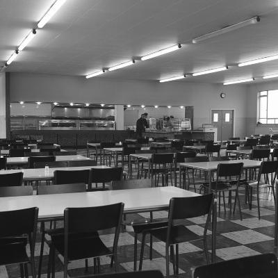 View of the Canteen at the Park Gate Iron and Steel Co, Rotherham, 1964-Michael Walters-Photographic Print