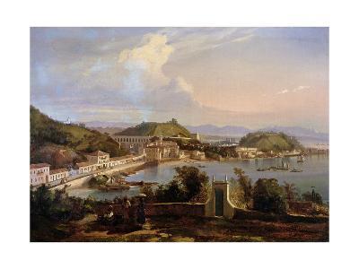 View of the Church of Nossa Senhora Da Gloria De Outeiro, Brazil, 1838-Thomas L^ Hornbrook-Giclee Print