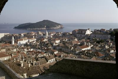 View of the City and the Harbour from the Minceta Tower--Photographic Print