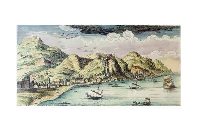 View of the City of Málaga, Spain-Spanish School-Giclee Print
