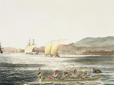 View of the City of Manila, Phillipine Islands-Ludwig Choris-Giclee Print