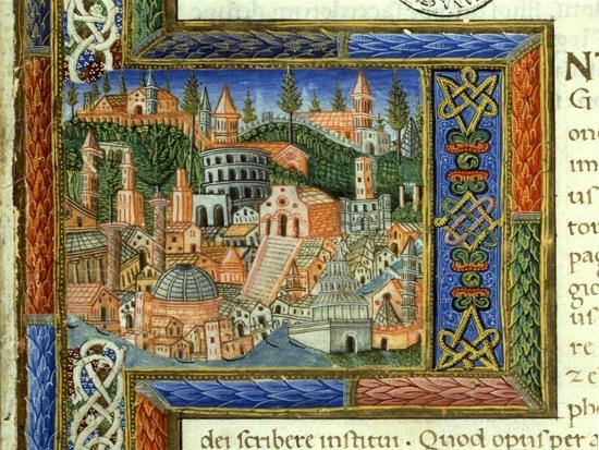 View of the City of Rome-Giovanni &  Jacopo Milano & Fabriano-Art Print
