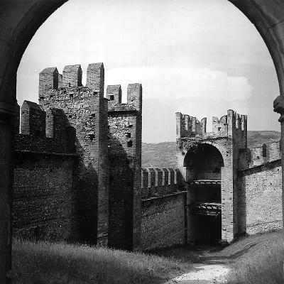 View of the City Walls of Soave-Pietro Ronchetti-Photographic Print
