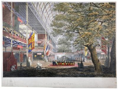 View of the Closing Ceremony of the Great Exhibition of 1851, London, 1851--Giclee Print