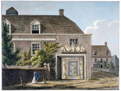 View of the Coade Stone Factory in Narrow Wall, Lambeth, London, 1801-Charles Tomkins-Giclee Print