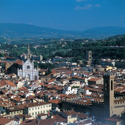 View of the District of Santa Croce, Florence--Photographic Print