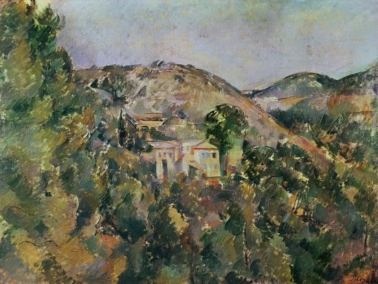 View of the Domaine Saint-Joseph, Late 1880S-Paul C?zanne-Giclee Print