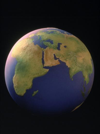 View of the Earth-Matthew Borkoski-Photographic Print