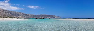 View of the Elafonisi Beach, West Coast, Crete, Greece--Photographic Print