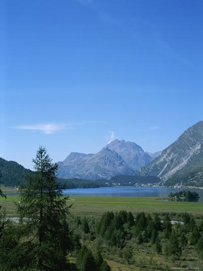 View of the Engadin Valley outside St Moritz-Taylor S^ Kennedy-Photographic Print