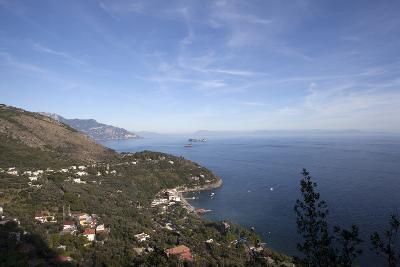 View of the Entire Amalfi Coast-Oliviero Olivieri-Photographic Print