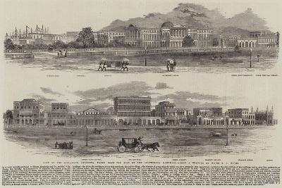 View of the Esplanade, Calcutta, Taken from the Foot of the Ochterlony Monument--Giclee Print