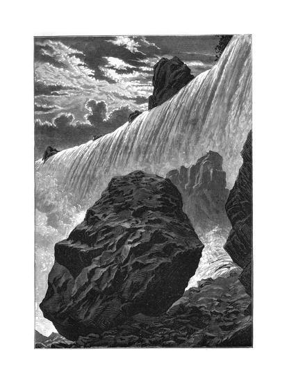 View of the Falls of Niagara, 1877--Giclee Print