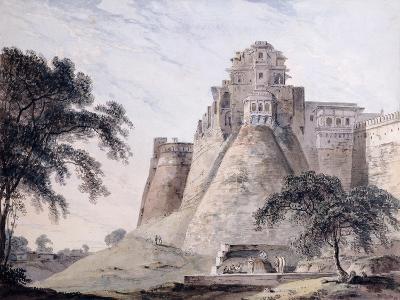 View of the Fort, Jaunpur, Uttar Pradesh-Thomas & William Daniell-Giclee Print