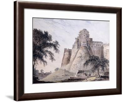 View of the Fort, Jaunpur, Uttar Pradesh-Thomas & William Daniell-Framed Giclee Print