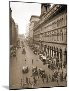 View of the General Post Office, Sydney, Australia. 1929