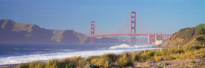 View of the Golden Gate Bridge, San Francisco, California, Usa--Photographic Print
