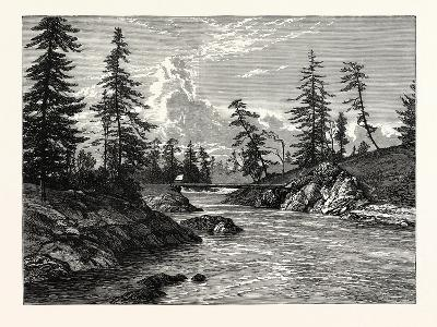View of The Gorge--Giclee Print