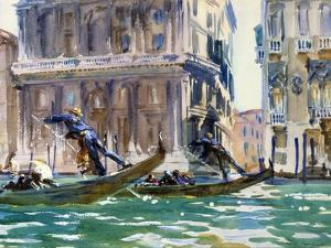 View of the Grand Canal in Venice by John Singer Sargent
