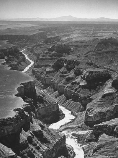 View of the Grand Canyon National Park-Frank Scherschel-Photographic Print