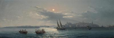 View of the Grand Harbour, Valletta, 1885-Giancinto Gianni-Giclee Print