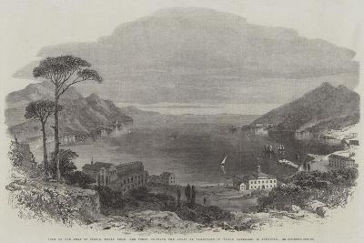 View of the Gulf of Spezia--Giclee Print