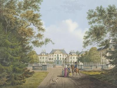 View of the Het Loo Palace-Cornelis de Kruyff-Giclee Print