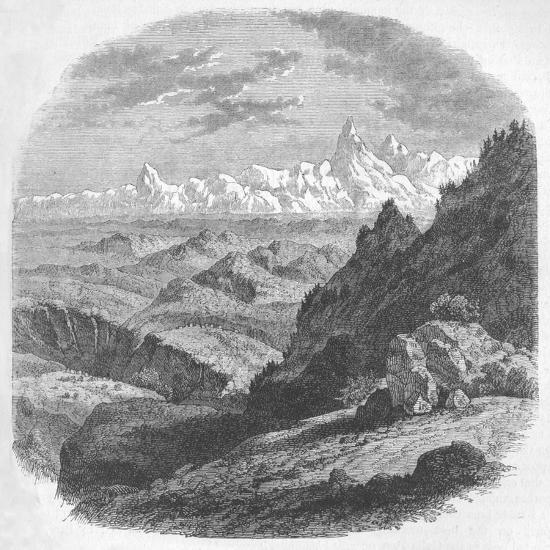 'View of the Himalayan Range', c1880-Unknown-Giclee Print