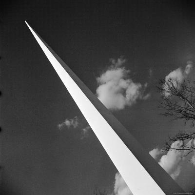 View of the Iconic Trylon on the Grounds of the 1939 New York World's Fair-Alfred Eisenstaedt-Photographic Print