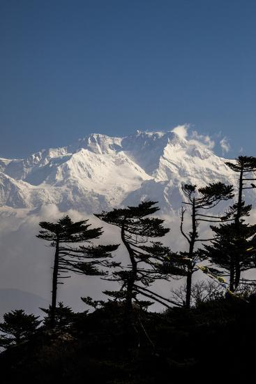 View of the Icy Summit of Kanchenjunga-Roberto Moiola-Photographic Print