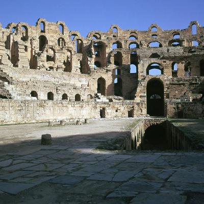 View of the Interior of a Roman Colosseum, 2nd Century-CM Dixon-Photographic Print