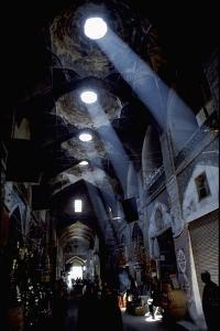 View of the Interior of the Bazaar at Isfahan