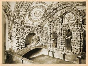 View of the Interior of the Crypt, Santa Maria Della Concezione Dei Cappuccini