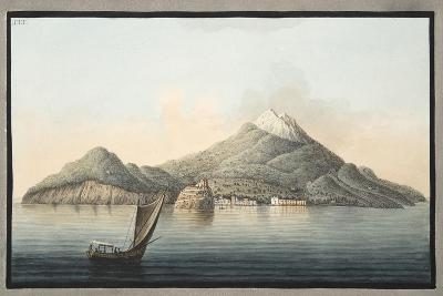 View of the Island of Ischia from the Sea-Pietro Fabris-Giclee Print