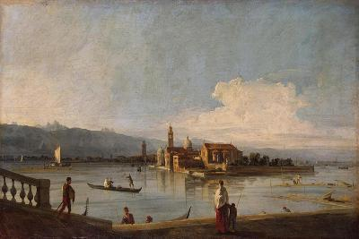 View of the Isles of San Michele, San Cristoforo and Murano, from the Fondamenta Nuove, C.1725-28-Canaletto-Giclee Print