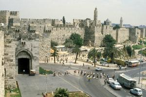 View of the Jaffa Gate