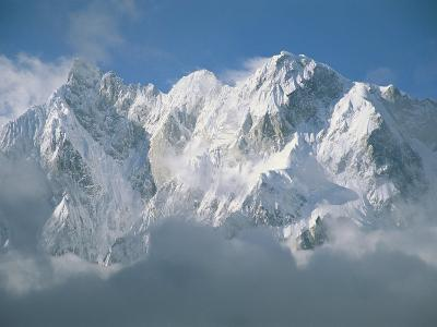 View of the Karakoram Ranges Snow-Covered K6 after a Storm-Jimmy Chin-Photographic Print