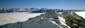 View of the Kicking Horse Resort, British Columbia, Canada